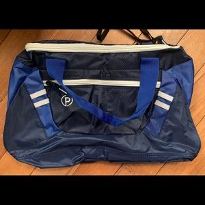 *2/$30* Travel Duffel Bag, Collapsible - Navy Blue